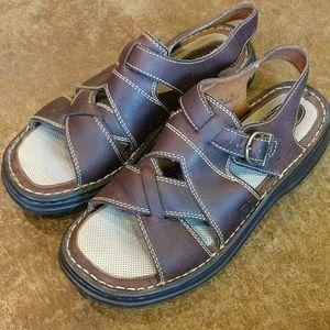 Born Leather Sandals! Size 10/42